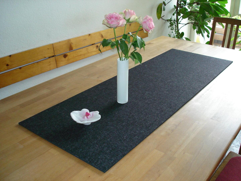 Filz-Tischläufer, 32 cm x 100 cm, ca. 3 mm stark - Beck